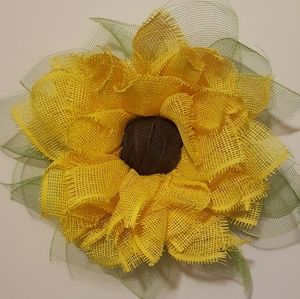 Handmade Sunflower Wreath /Wall Decor